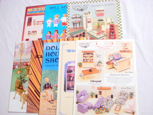 6 Dollhouse Catalogs Concord + Doll House Shoppe