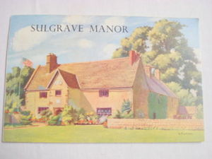 Sulgrave Manor Booklet George Washington's Ancestors