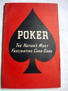 Poker The Nation's Most Fascinating Card Game 1941
