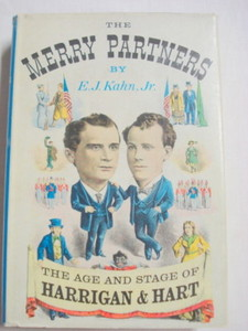 The Merry Partners 1955 HC The Age of Harrigan & Hart