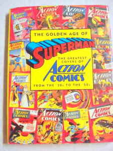 The Golden Age of Superman HC 1993 Action Comic Covers