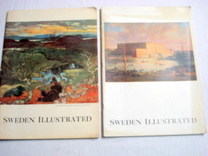 Two 1955 Sweden Illustrated Magazines
