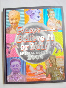 Ripley's Believe It or Not! Special Edition 2004 HC