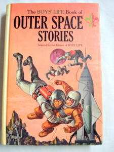 The Boys' Life Book of Outer Space Stories 1964 HC