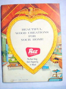 Beautiful Wood Creations For Your Home 1960's SC Rez