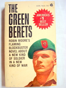 The Green Berets by Robin Moore 1965 Paperback Vietnam