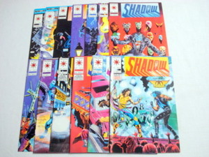 13 Shadoman Valiant Comics #4, #5, #8, #10 thru #19