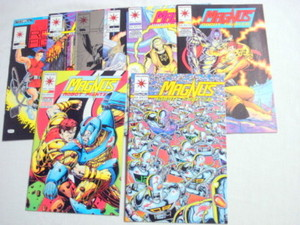 8 Magnus Robot Fighter Valiant Comics #15, 21, 25-30