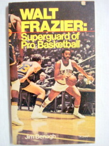Walt Frazier Superguard of Basketball 1974 PB Knicks