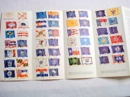 The Glorious 50 Fifty State Flags Booklet Late 1950's