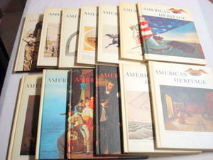 13 Hardcover American Heritage Magazines of History 1969-75