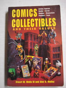 Comics Collectibles and Their Values 1996 Softcover