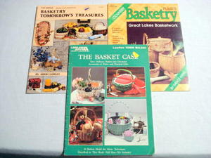 3 1980's Basket & Basketry Magazines