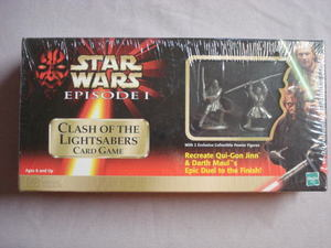 Star Wars Episode I Clash of the Lightsabers Card Game