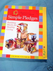 Simple Pledges The Book Vol. III 2005 Health & Cookbook