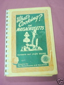 What's Cooking? in Massachusetts Softcover Cookbook