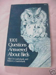 1001 Questions Answered About Birds Allan D Cruickshank