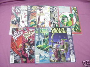 11 Green Arrow Comics #30, 46, 69, 72, 73, 75, Annual 7