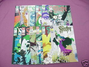 12 The Spectre 1980's DC Comics #1, 3 thru 11, 14, 15