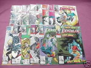 14 Deathlok Marvel Comics #1 thru #7, #9 thru #15