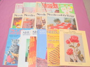 15 1970's/80's Sewing & Hand Weaving Magazines