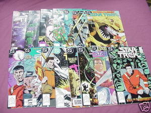 15 Star Trek 1980's DC Comics #37 thru #51