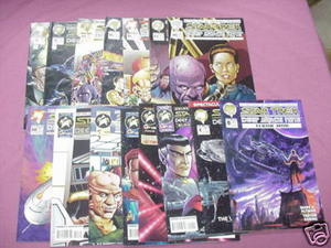15 Star Trek Deep Space Nine Comics #8, 9, 11, 15-18 +