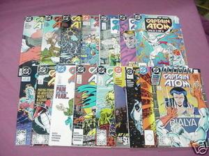 16 Captain Atom DC Comics 26-29, 31-36, Annuals 1,2