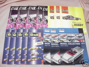16 Revell and Revell of Germany Diecast Catalogs
