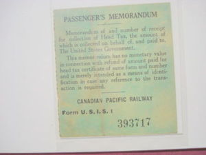1925 Maine Central Railroad & CP Railway Memorandum