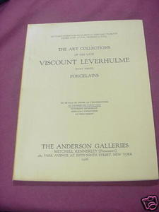 1926 Anderson Galleries Porcelains Auction Catalog
