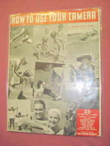 1937 How To Use Your Camera George Allen Young SC