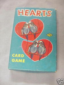 1950's/60's Hearts Card Game E. E. Fairchild Corp.