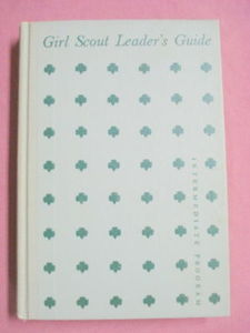 1955 Girl Scout Leader's Guide Intermediate Level HC