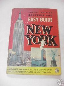 1966 Easy Guide To New York Booklet New York City