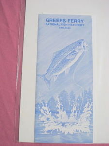 1984 & 1989 Greers Ferry National Fish Hatchery Booklet