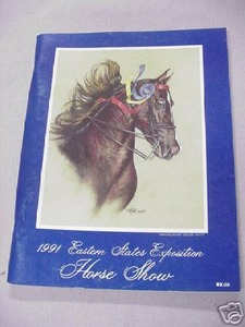 1991 Eastern States Exposition Horse Show Magazine