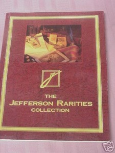 1992 The Jefferson Rarities Collection Auction Catalog