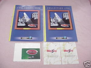 2 1998 Solido Diecast Catalogs & 1994 Mini Solido Cat.