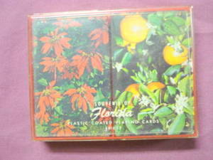 2 Decks Florida Souvenir Vintage Playing Cards Sealed