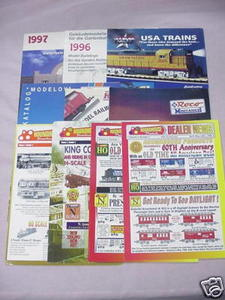 2 Piko 1990's G-Scale Model Buildings Catalogs + Flyers