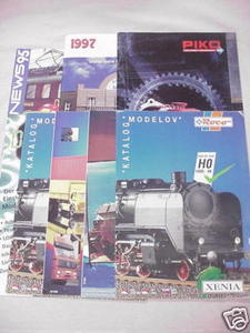2 Piko 1997 Catalogs & Roco 1995 News Catalog + Flyers