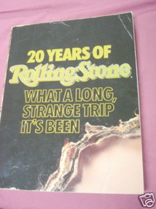 20 Years of Rolling Stone 1987 Softcover Jann S. Wenner