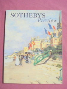 2000 Sotheby Catalog British and Irish Pictures