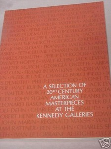 20th Century Masterpieces at the Kennedy Galleries 1973