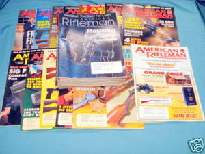 28 Issues of American Rifleman Magazine 1995-2003