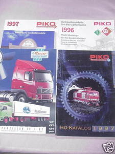 3 Piko 1990s Catalogs and Roco 1994 HO Catalog