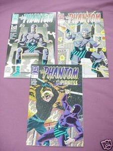 3 The Phantom 1989 DC Comics #1, #2, #3