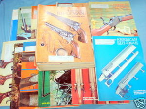 30 Issues of American Rifleman Magazine 1975-1979