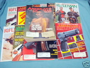 30 Issues of American Rifleman Magazine 1990-1994